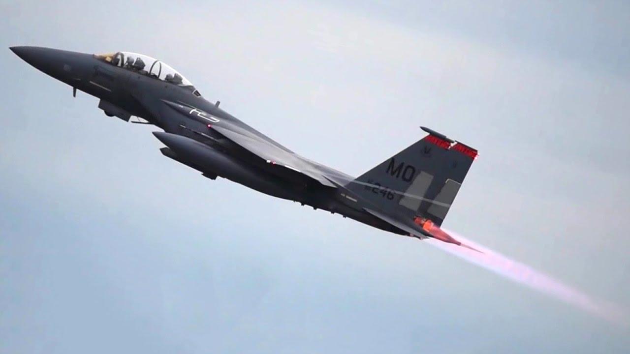 Fighter Jets Takeoff: F-22, F-35, F-15, F-16