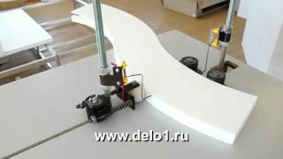 как сделать арку из пенопласта