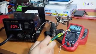 Unit UT33C - обзор хорошего мультиметра для ремонта телефонов
