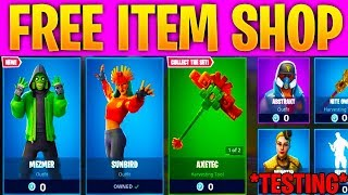 """Testing """"ACCESS The FREE ITEM SHOP in FORTNITE SEASON 8!"""" (FORTNITE ITEM SHOP) TESTING If it works"""