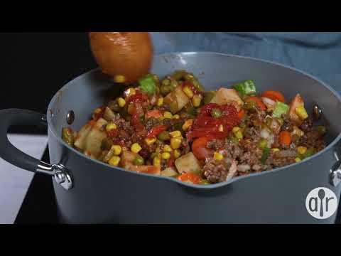 How to Make Ground Beef Vegetable Soup   Soup Recipes   Allrecipes.com