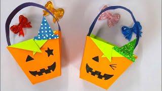 [초간단]Origami - Pumpkin Basket …
