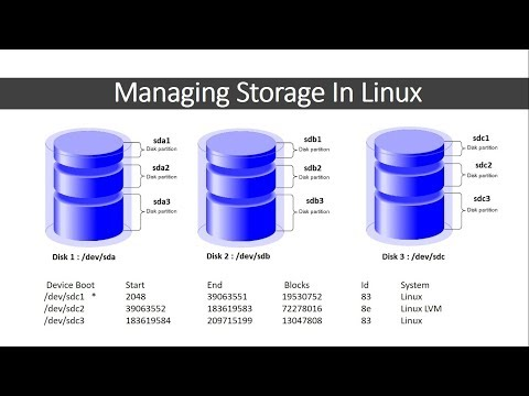Managing Storage in Linux with fdisk , lsblk , blkid , du and df command