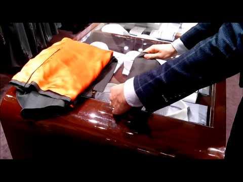 Garderob.ru - Складываем костюм и сорочку в дорогу