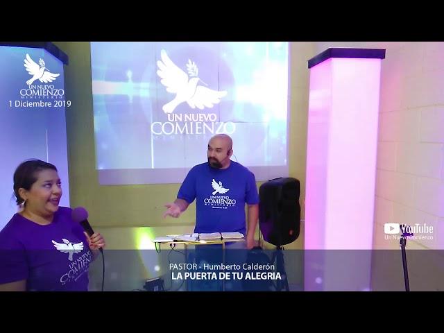Predica # 131 - LA PUERTA DE TU ALEGRIA - Pastor Humberto Calderon