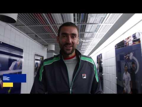 Emirates Winners Walk Cilic Marin