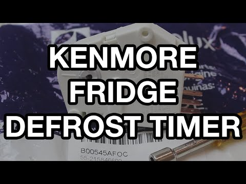 Kenmore Refrigerator Defrost Timer Replacement - YouTube on