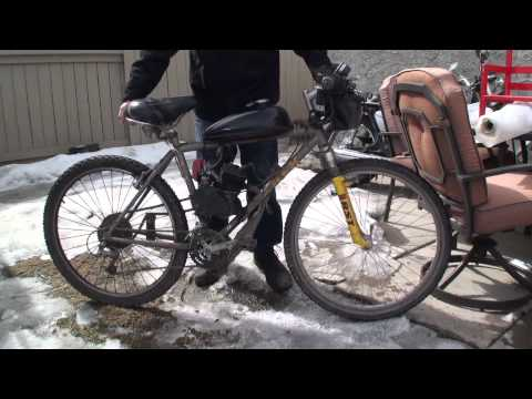 80cc Motorized Bicycle Problems