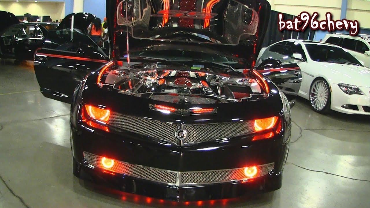 Black Wide Body Camaro Ss On 24 Quot Forgiatos Forgiato Fest