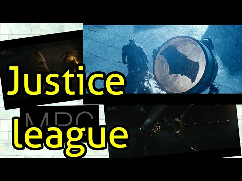 Justice league trailer movie with ANIMATION CGI