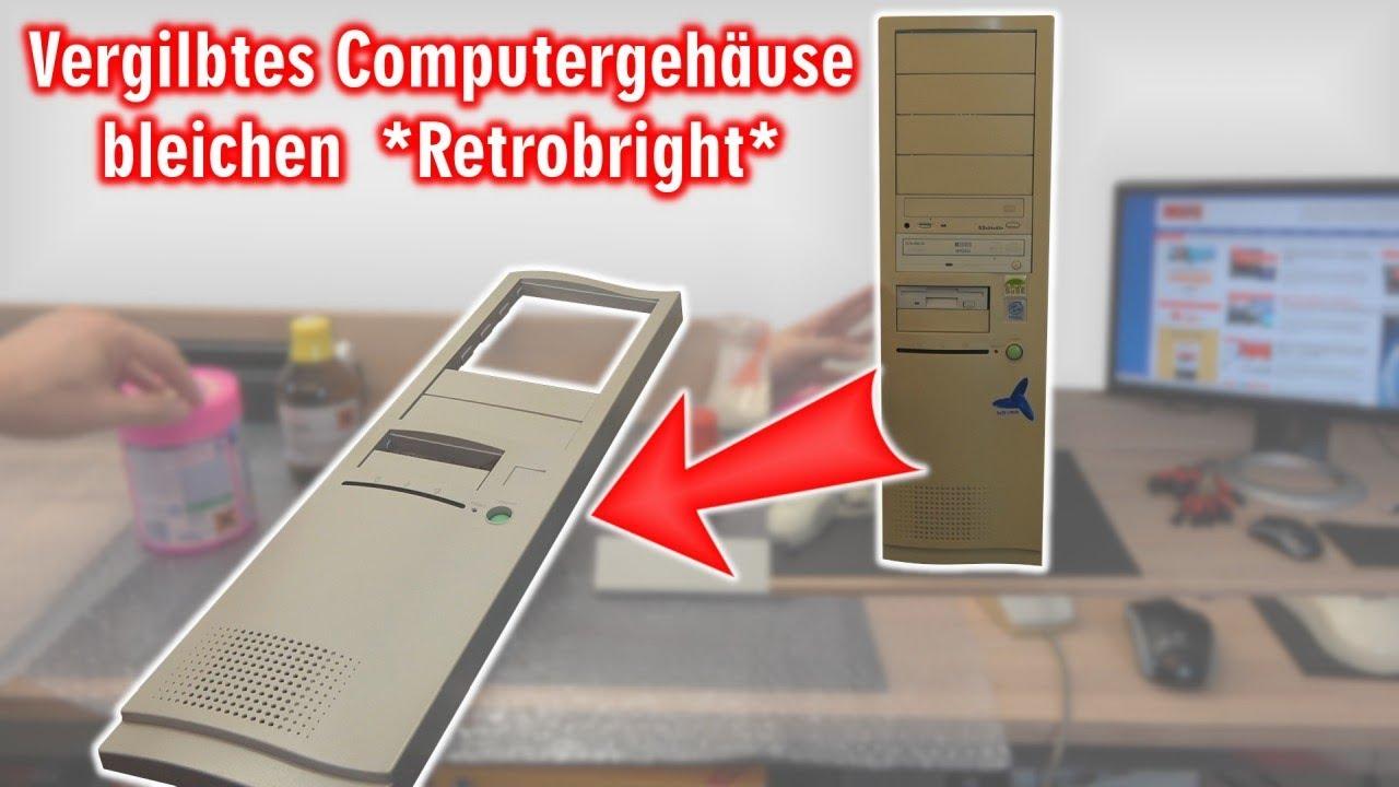 Vergilbtes Computergehause Bleichen Und Reinigen Retrobright