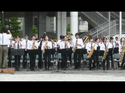 立命館高校吹奏楽部 第7回長岡京駅前広場コンサート
