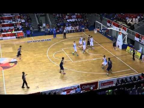 2015 FIBA Asia U16 Final - Taiwan (Chinese Taipei) 中華隊 vs Korea 韓國