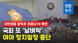 정기국회 코로나19에 올스톱…정치인들 줄줄이 '…