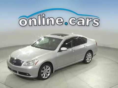 A16690YT Used 2007 Infiniti M35X Silver Sedan Test Drive, Review, For Sale