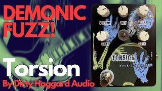 """Torsion"" Fuzz Pedal by Dirty Haggard Audio // Guitar and Bass Demo // Stoner Doom Sludge Riffs"