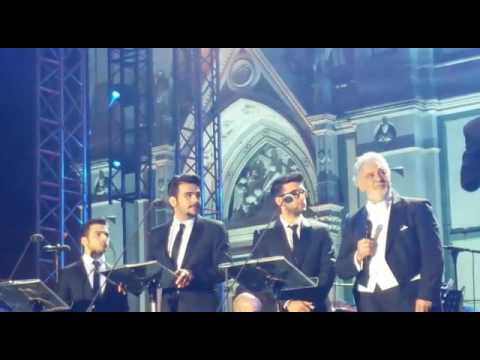 Il Volo e Placido Domingo firenze