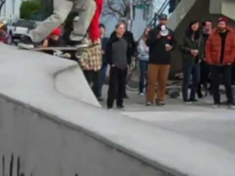 Brooklynn Street Skate Spot Best Pilliar/Fence Trick