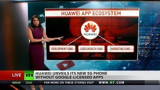 Huawei releases new 5G phone without Google