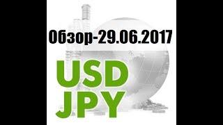 ПРОГНОЗ ФОРЕКС. USD/JPY - 29.06.2017.