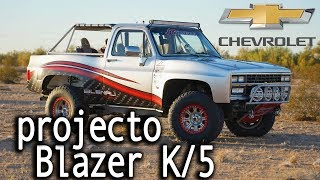 "Chevy Blazer K/5 Squarebody a 5 years project! 😱 ""The Blenali"" [a MUST SEE]"