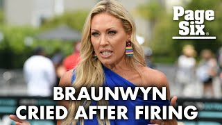 Braunwyn Windham-Burke reveals where she was when she got fired from RHOC | Page Six Celebrity News