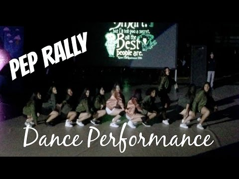 Pep Rally Dance Performance