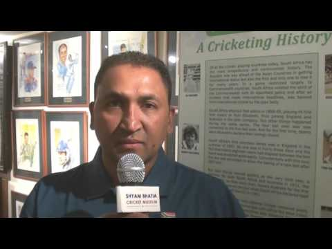Interview of Riaan Osman Manager of SA U19 World Cup Team