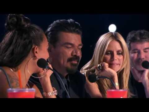 Фокус с деньгами на Americas Got Talent