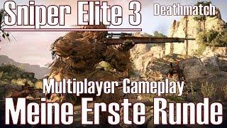 Sniper Elite 3 ★ Multiplayer Gameplay ★ Meine Erste Runde [Deutsch/HD]