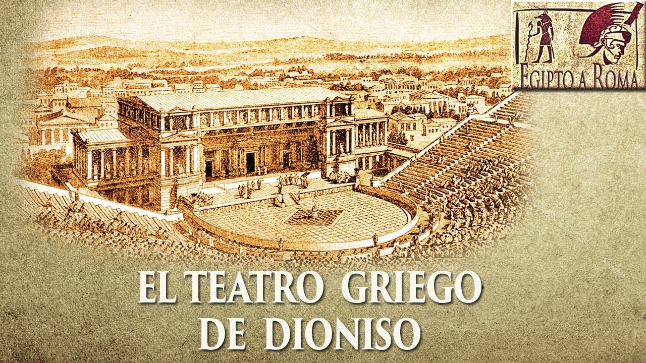 El teatro de dioniso el mayor teatro de la antigua grecia for Cultura de la antigua grecia