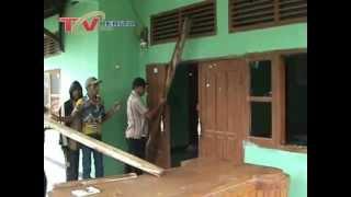 Kantor Desa Kutalanggeng Dirusak Masa,  Tolak Pelantikan Kades