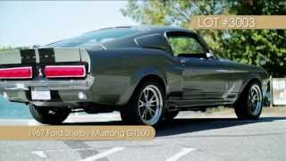 1967 Ford Shelby Mustang GT500 from the RKMCCA 11/2/13 Charlotte Auction