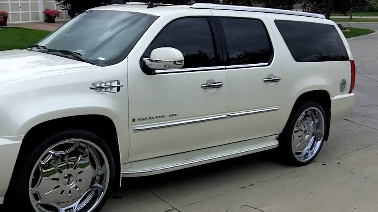 2009 Cadillac Escalade Esv 26inch Ganja Dub Rims Dubs Dubs