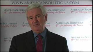 Gingrich: Stop the Stimulus Bill thumbnail