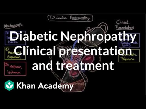 Diabetic nephropathy - Clinical presentation & treatment | NCLEX-RN | Khan Academy