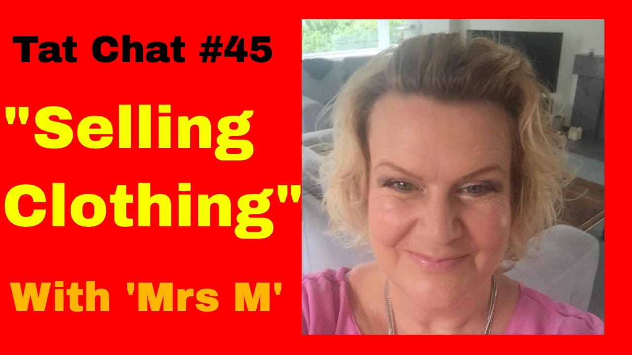Selling Clothing On Ebay Uk With Special Guest Caroline Mrs M Youtube