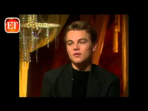 Leonardo DiCaprio, Titanic 1998 interview.