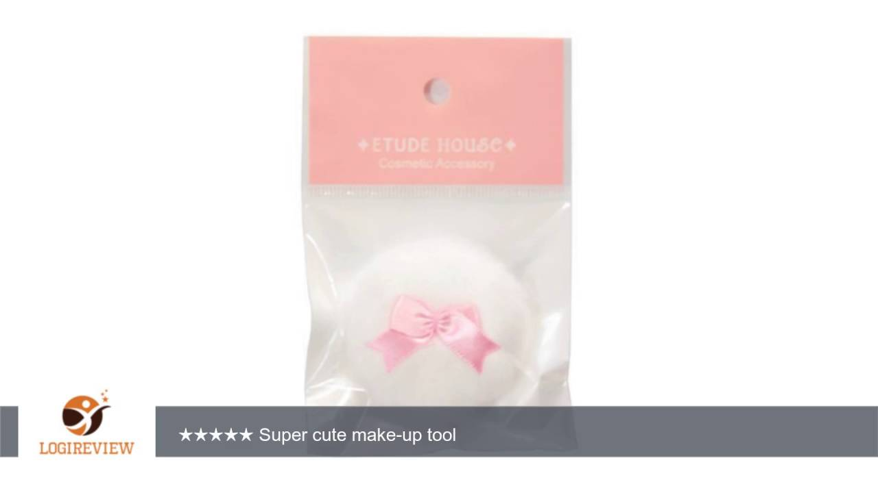 Etude House Lovely Cookie Blusher Puff Review Test Youtube