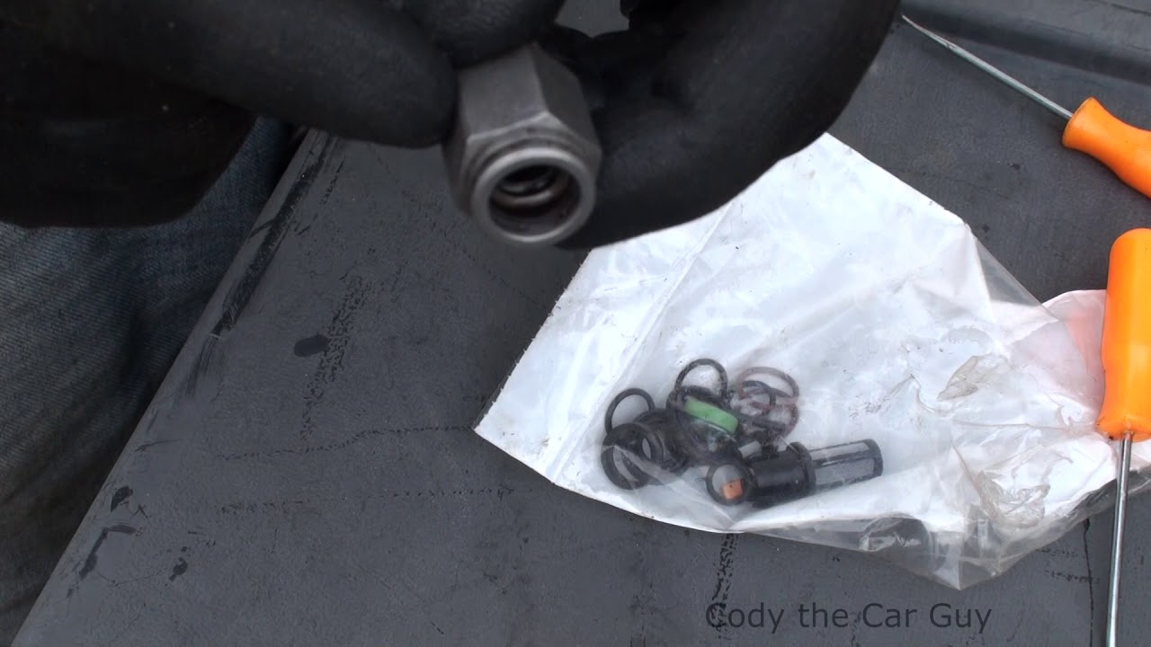 2006 Pontiac G6 Speaker Wiring Diagram 3 Way And 4 Switch 4t65e Transmission Lines Leaking Simple Easy Fix Youtube