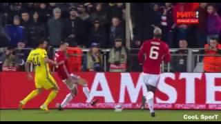 Ростов - Манчестер Юнайтед 1-1 ГОЛЫ 9.03.2017 ROSTOV vs Manchester United 1:1 GOALS