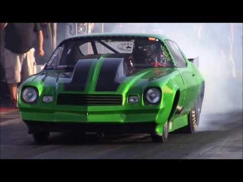 Mean Green Z28 vs Bankston Boyz Racing at the Winter Meltdown