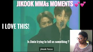 JIKOOK MMAs 2019 MOMENTS REACTION