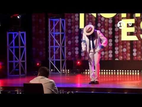 """Germán Muñoz como Michael Jackson en """"Mi Nombre Es"""""""