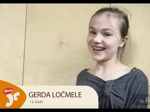 Amigo Juniori fināliste - Gerda Ločmele
