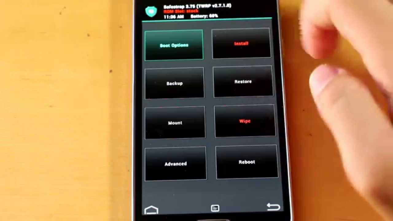 how to put s5 in safe mode
