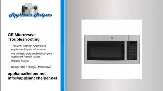 ge microwave troubleshooting
