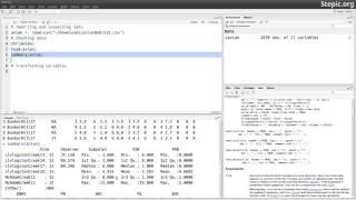 Как загрузить данные в R. Основы программирования на R