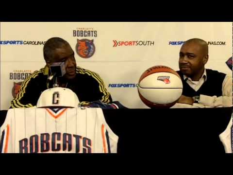 Paul Silas New Charlotte Bobcats Coach.mov