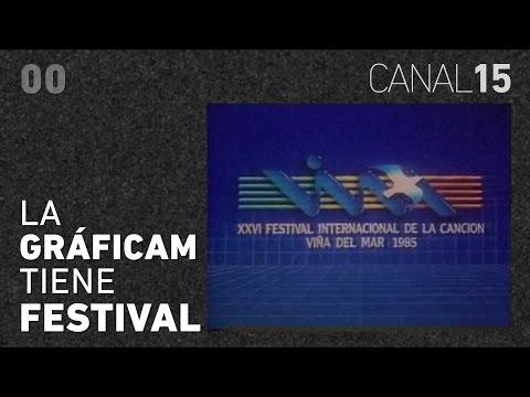 Canal 15 #00: El Festival de Viña del Mar y su historia gráfica